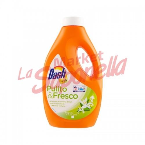 Dash simply detergent lichid curat&proaspat cu magnolie si aloe-18 spalari-990 ml